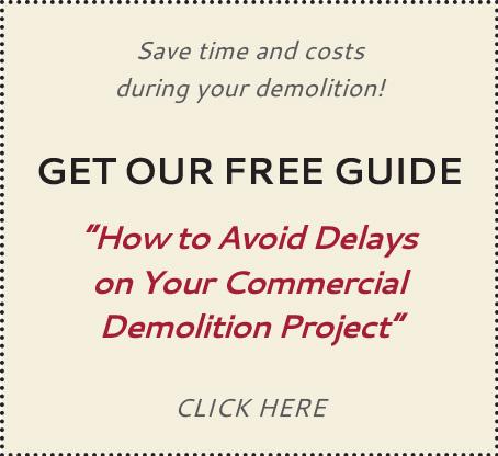Hiring a Commercial Demolition Contractor | San Antonio